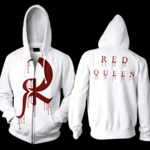 Red-Queen-logo-drip-hoodie-whitesolid-printbig