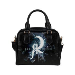 Red Queen Shatter Glass Shoulder Handbag