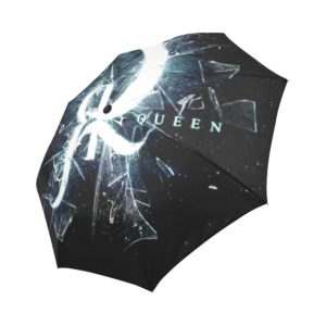 Red Queen Shattered Glass Auto-Foldable Umbrella