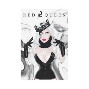 Red Queen Elena Polyester Fabric Flag 12''x18''(Without Flagpole)