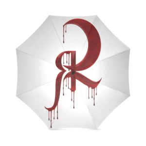 Red Queen Blood Drip Symbol Foldable Umbrella
