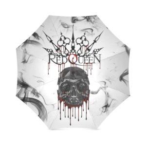 Red Queen Skull Blood Foldable Umbrella